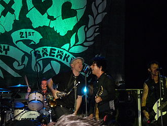 21st Century Breakdown - Green Day performing in a 21st Century Breakdown showcase concert at the Kesselhaus, Berlin, May 7, 2009