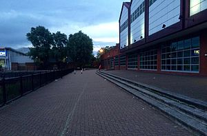 Surrey Quays - View on June 2016