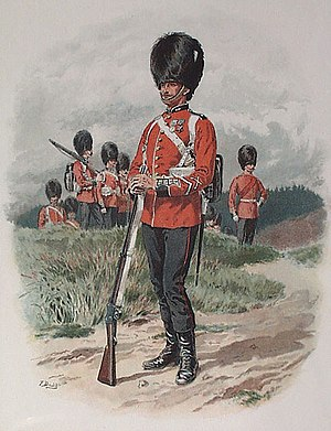 Grenadier Guards, 1889