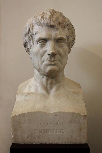 Joseph Fourier - Bust of Fourier in Grenoble