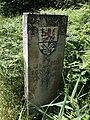 Grenzsteen an de Grenz Landkreis Rodenborg un Landkreis Stood in Bockhorst.jpg