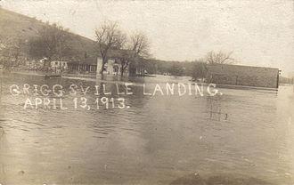 Griggsville Landing, Illinois - Griggsville Landing, 1913