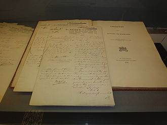 Constitutional Reform of 1848 - 1848 constitutional reform documents