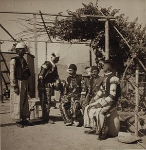 Tell Tamer - Image: Group of Assyrian men