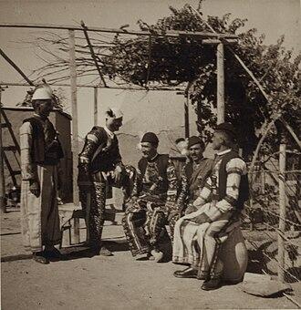 Tell Tamer - Image: Group of Assyrian men