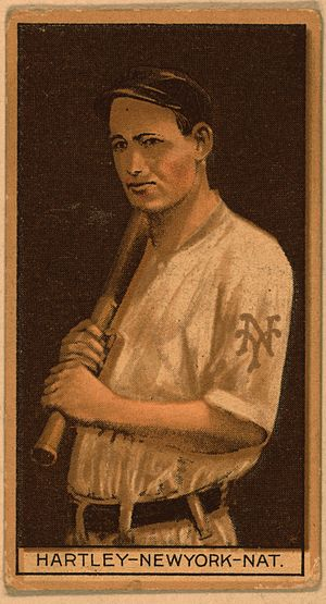 Grover Hartley - Grover Hartley baseball card