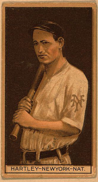 Grover Hartley - Grover Hartley baseball card