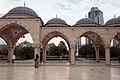 Grozny, Russia, Akhmad Kadyrov Mosque, Courtyard 2.jpg