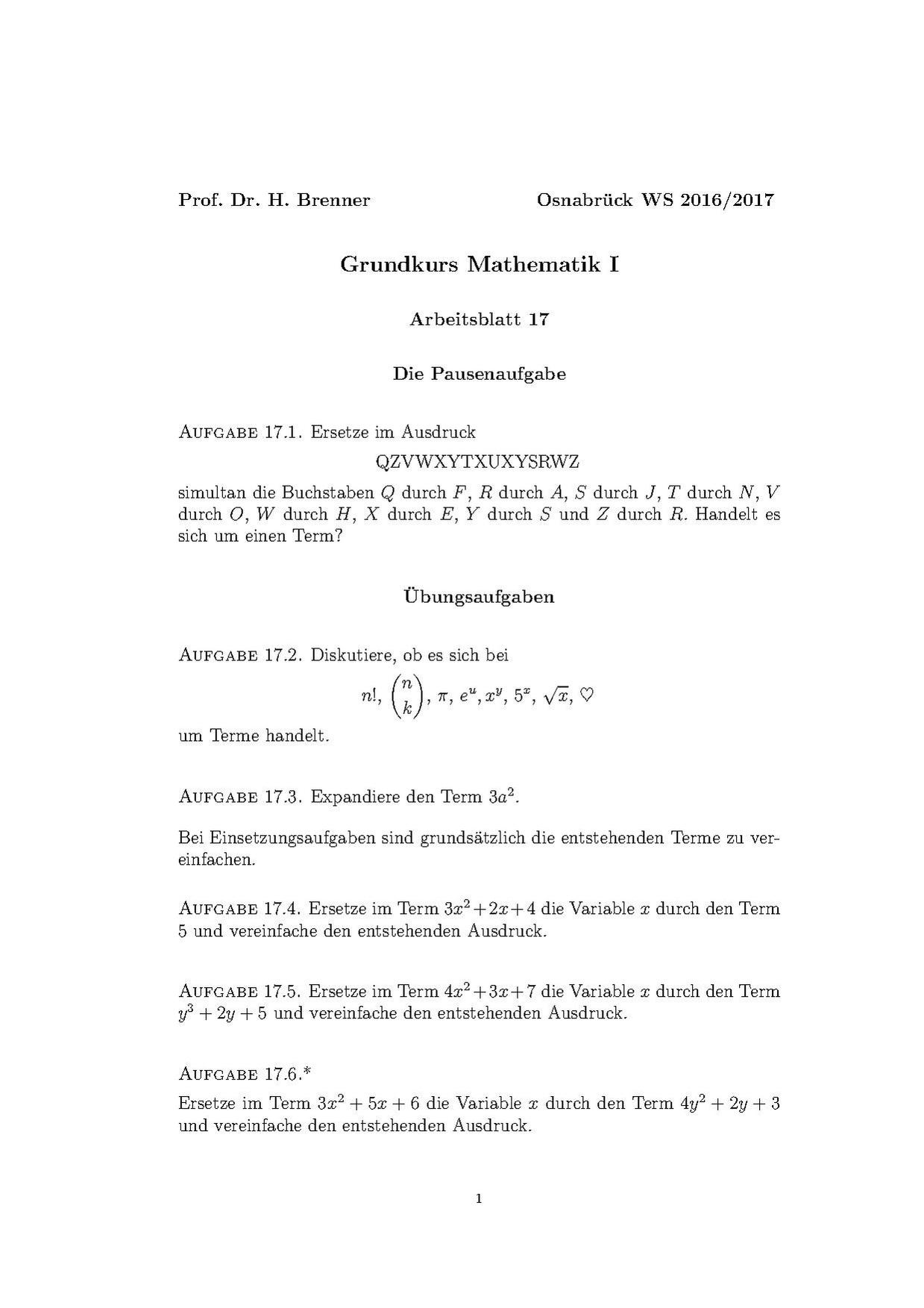 Wunderbar Einfache Algebra Arbeitsblätter Fotos - Mathe ...