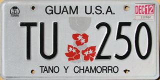 Vehicle registration plates of Guam Guam vehicle license plates
