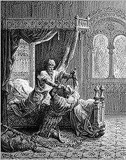 Gustave Dore Crusades Edward I kills his attempted assassin