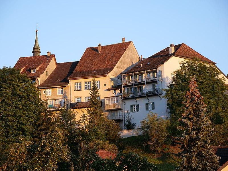 File:Häusergruppe nördliche Stadtmauer Bischofszell.jpg