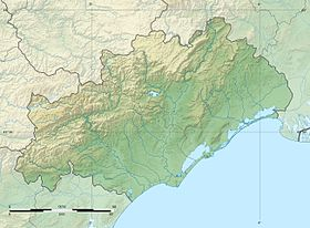 Hérault department relief location map.jpg