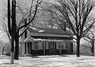 Thomas Alva Edison Birthplace - HABS photo, 1934
