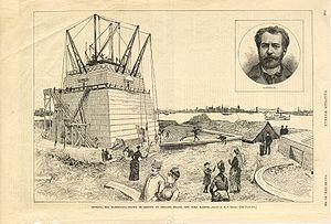 August 5: Statue of Liberty begun.