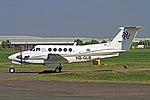 HB-GLB Beech Super King Air 200 CVT 10-05-2017 (35434500391).jpg