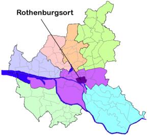 Rothenburgsort - Image: HH Rothenburgsort quarter