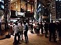HK 中環 Central night 晚上 Exchange Square 交易廣場 shop Library Restaurant visitors Oct 2018 SSG 02.jpg