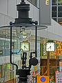 HK Central 都爹利街 Duddell Street gas lamp n clock April 2013.JPG