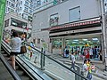 HK Sai Ying Pun 西環正街 Centre Street 38 Escalators view High Street May-2013.JPG