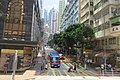 HK Tram tour view 德輔道西 Des Voeux Road West 水街 Water Street August 2017 IX1.jpg