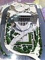 HK Wan Chai North HKAPA 香港演藝學院 The Hong Kong Academy For Performing Arts Nov-2013 school campus building model.JPG