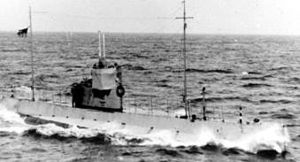 HMCS CC-1 on patrol