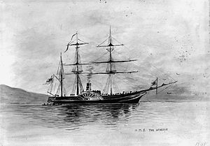 HMS Acheron (1838) - Image: HMS Acheron (1838)