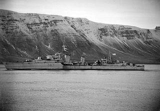 HMS <i>Bedouin</i> destroyer