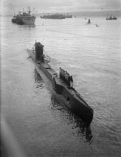 British U-class submarine