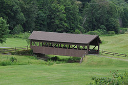 Hoffarosa Covered Bridge