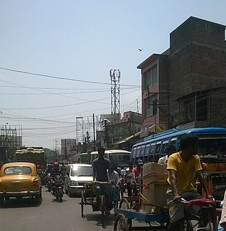 Habra - Habra Jessore Road traffic