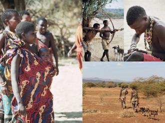 Hadza people - Image: Hadza montage
