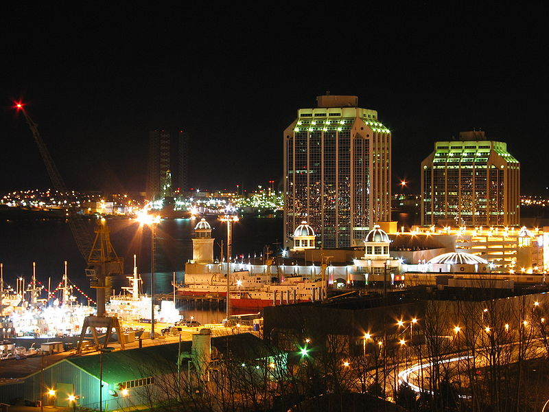 Halifax by night
