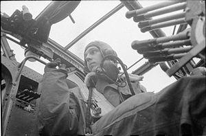 No. 35 Squadron RAF - Image: Halifax pilot WWII IWM D 6051