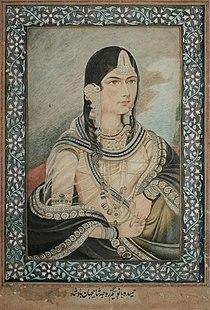 Hamida Banu Begum, wife of Mughal Emperor Humayun.jpg