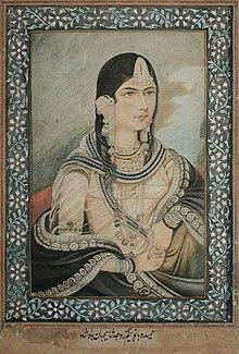 Хамида Бану Бегум, жена императора Великих Моголов Хумаюна.jpg