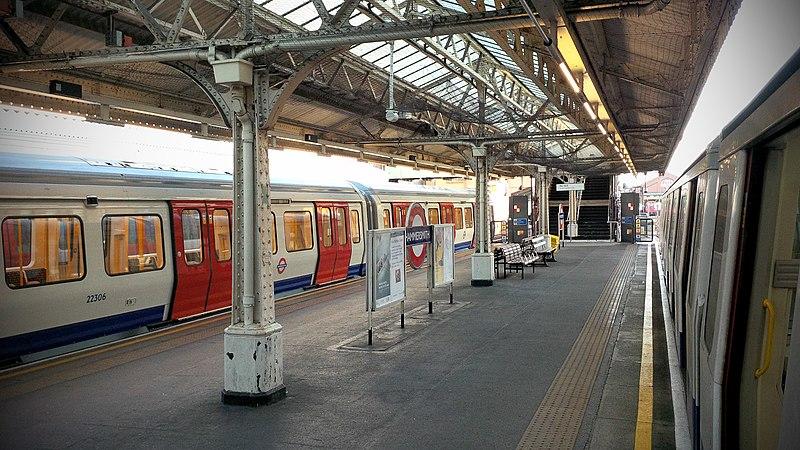 File:Hammersmith station Hammersmith and City.jpg