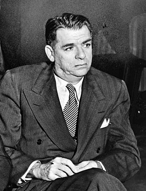 Oscar Hammerstein II - Hammerstein watching audition at the St. James Theatre