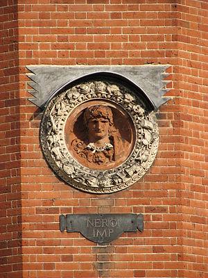 Giovanni da Maiano - Bust of Nero