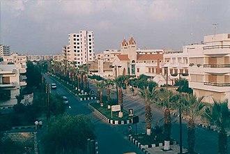Tartus - Hamrat street, Tartus, 1970