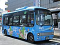 Hana Bus A2-751 Seibu Bus at Hibarigaoka Station 02.jpg