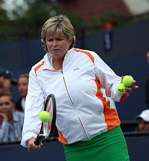 Hana Mandlíková Czech tennis player