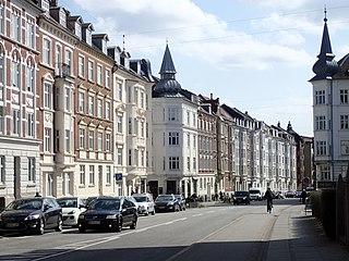 Frederiksbjerg Neighborhood in Aarhus Municipality, Central Denmark Region, Denmark