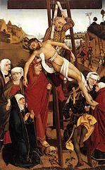 Hofer Altar: Kreuzigung Christi