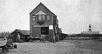 Happisburgh Lifeboat Station - Image: Happisburgh Lifeboat Station 1903
