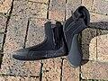 Hard soled neoprene wetsuit boots P7100005.jpg