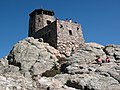 Harney Peak fire lookout tower.JPG