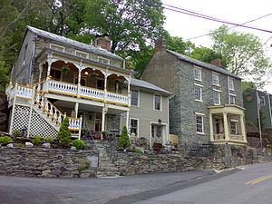 Harpers Ferry Historic District - Houses in Harpers Ferry