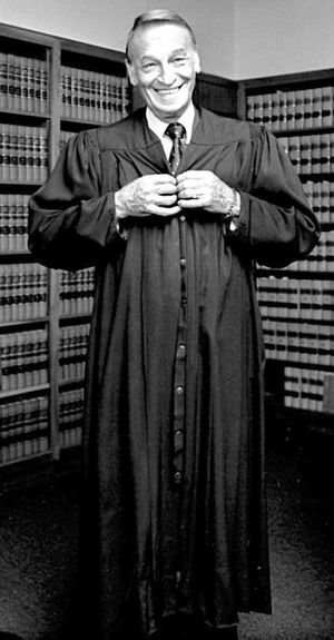 Harry E. Claiborne - Harry Claiborne prior to being sworn in as a federal judge